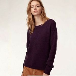 Aritzia Wilfred Free | knit sweater